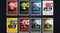 La Formula 1 celebra i 70 anni con 8 poster esclusivi - Immagine: 2