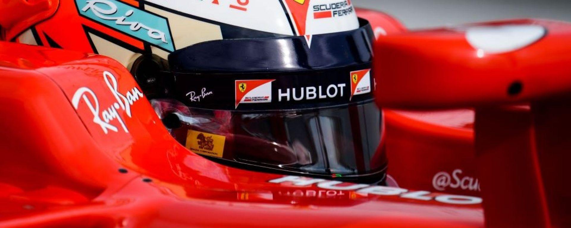 F1: ecco il nuovo casco 2018 di Kimi Raikkonen