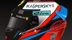 F1: ecco il nuovo casco 2018 di Kimi Raikkonen - Immagine: 2