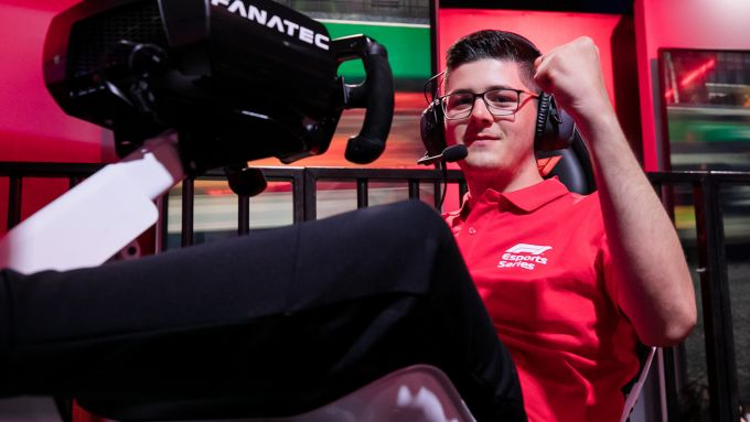 F1 Esport Pro Series 2019, David Tonizza (Ferrari Driver Academy)