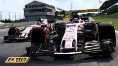 F1 eSports 2017, Force India in azione
