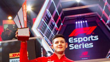 F1 Esports Pro Series 2019, Londra: David Tonizza (Ferrari) vince il campionato piloti