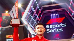 F1 Esport Pro Series 2019: Ferrari campione con Tonizza