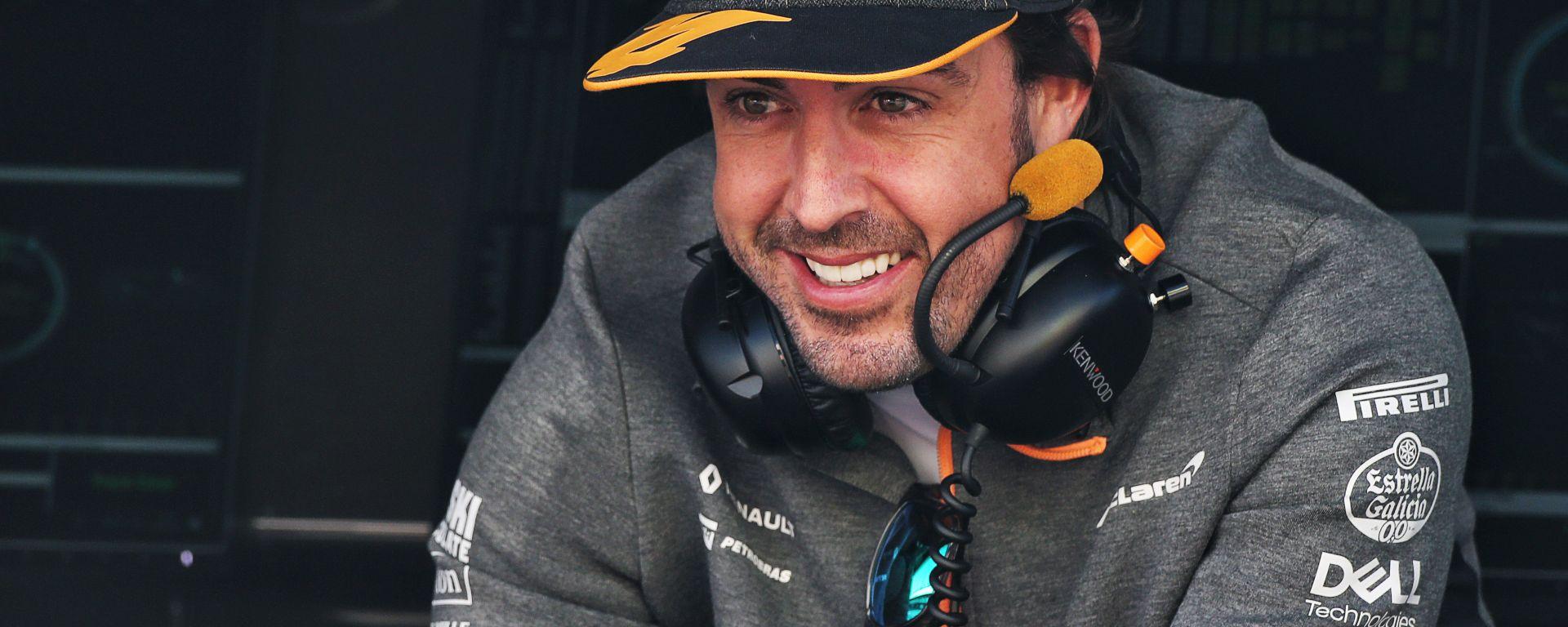 F1, Fernando Alonso nei test di Barcellona 2019 con la divisa McLaren