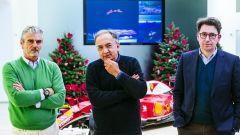 F1 Ferrari - Arrivabene, Marchionne e Binotto