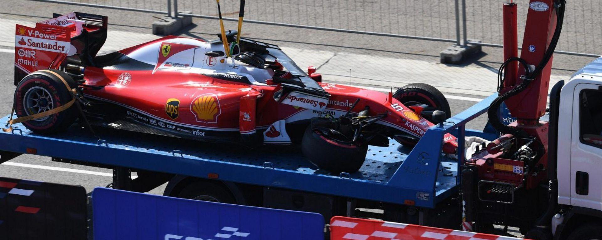 F1 Ferrari: Vettel, ancora un cambio…del cambio