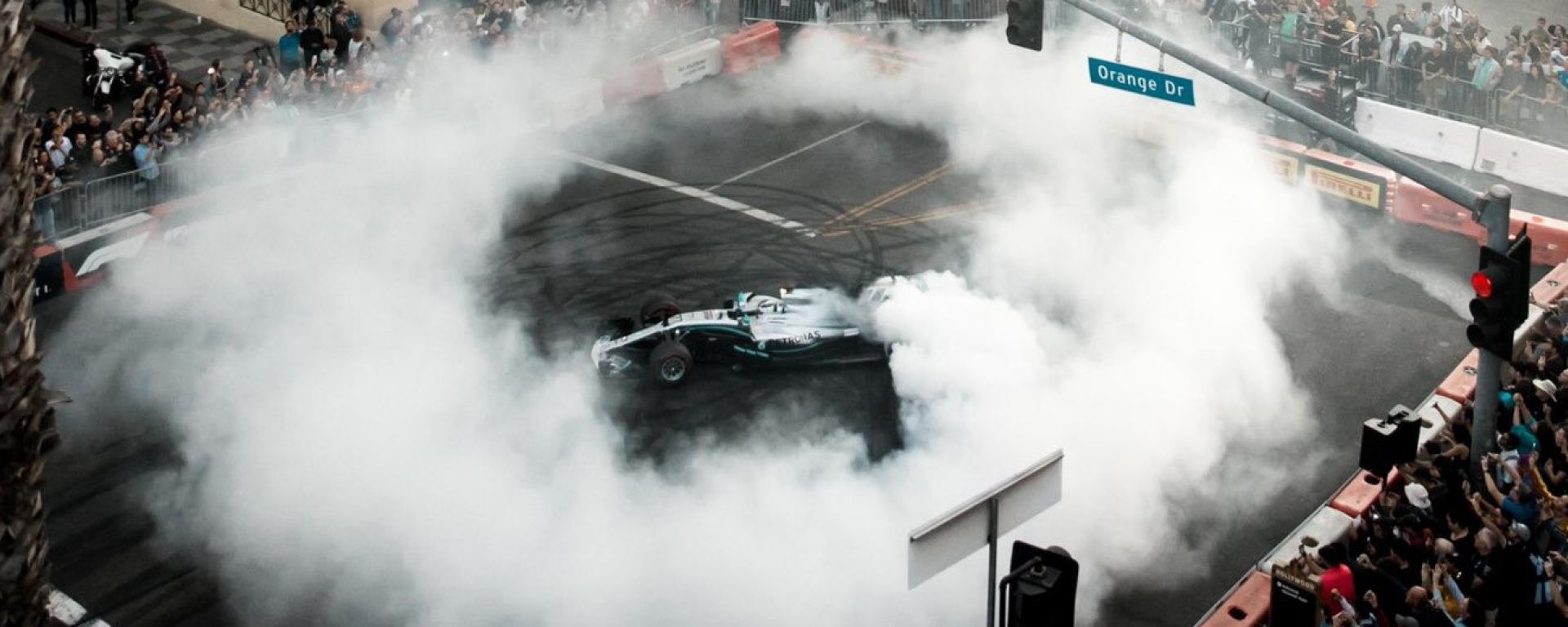 F1 Festival Los Angeles: Valtteri Bottas (Mercedes)