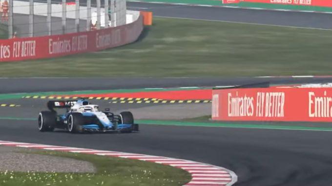 F1, George Russell (Williams) vince il VirtualGP di Spagna a Barcellona