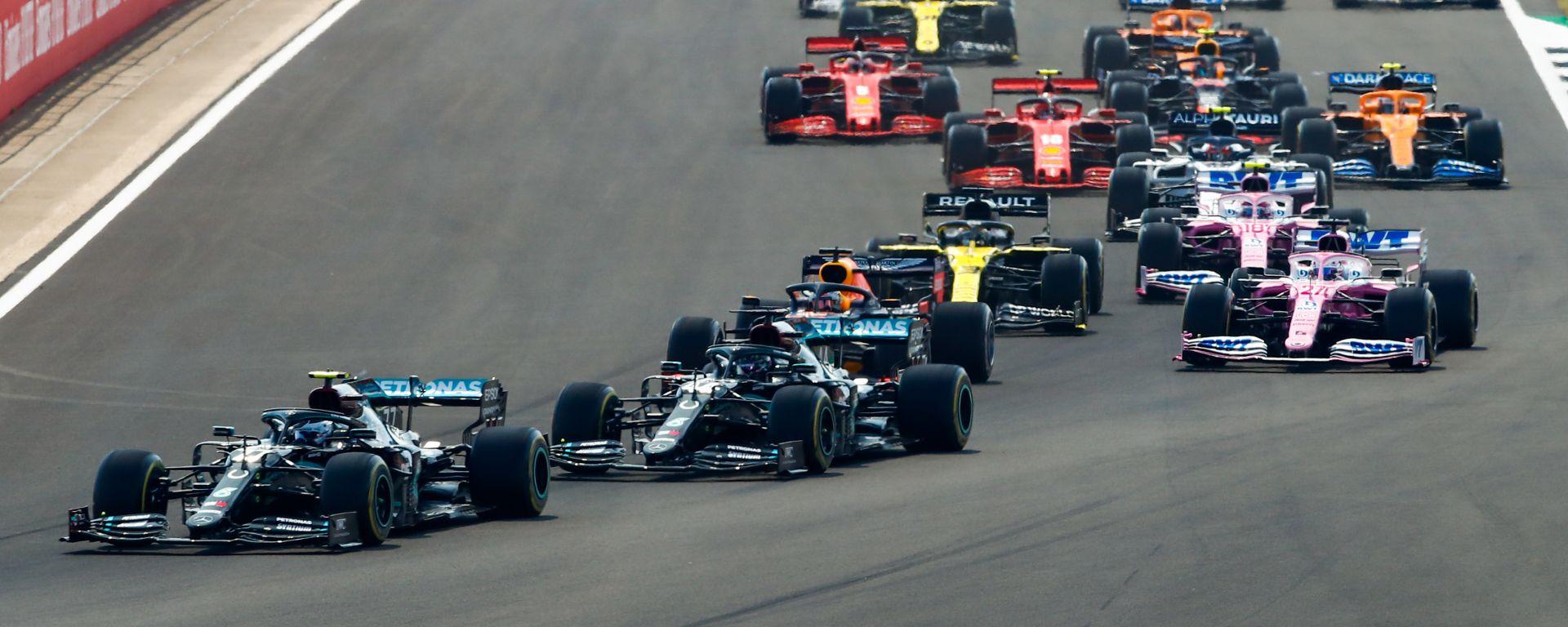 F1, GP 70° anniversario: la partenza
