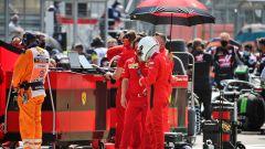 Vettel e la Ferrari ai ferri corti