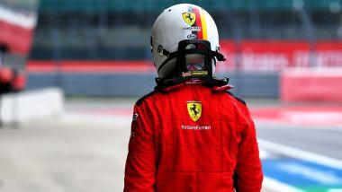F1, GP 70esimo anniversario: Sebastian Vettel (Ferrari)