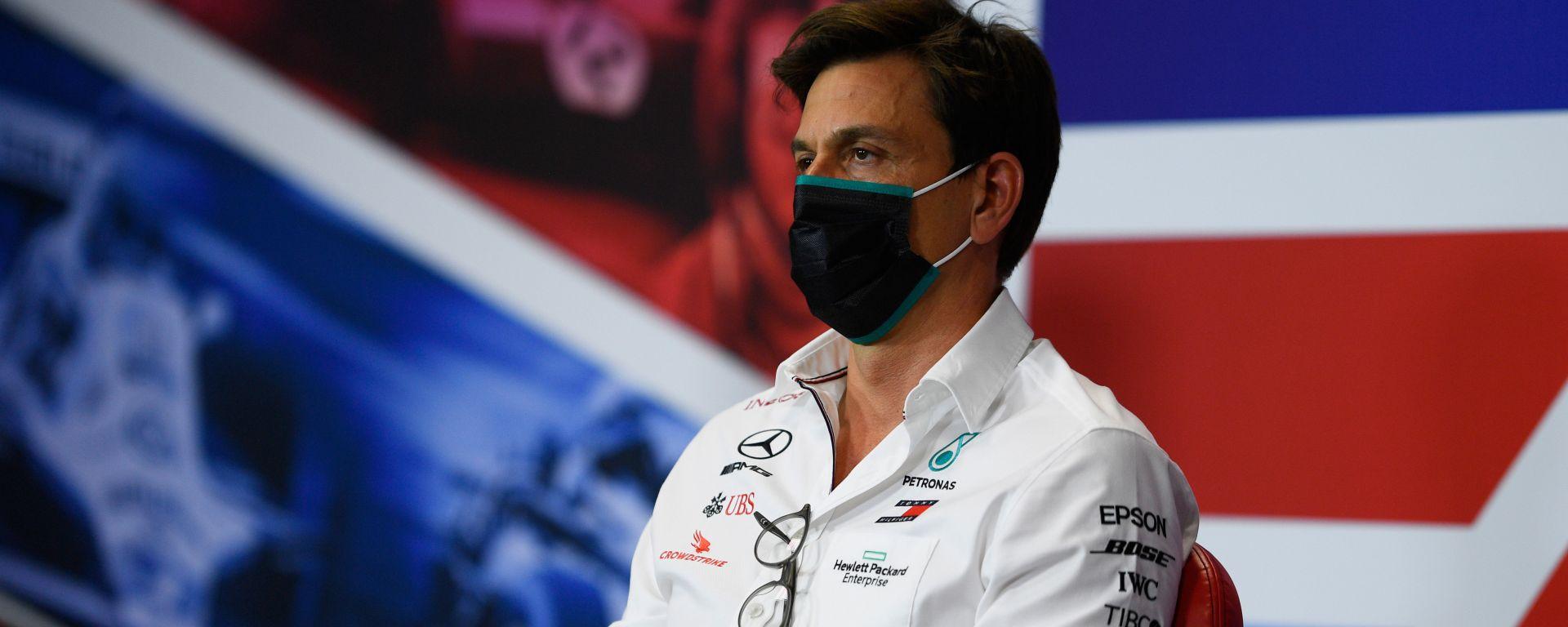 F1, GP 70esimo anniversario: Toto Wolff (Mercedes)
