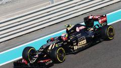 F1 GP Abu Dhabi 2015, Yas Marina: Pastor Maldonado alla sua ultima gara F1 con la Lotus-Mercedes