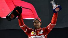 F1, GP Abu Dhabi 2017: Sebastian Vettel (Ferrari)