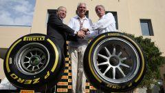 F1 Gp Abu Dhabi 2018, la presentazione delle gomme Pirelli da 18