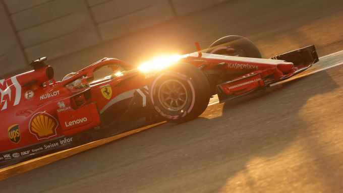 F1 GP Abu Dhabi 2018, Yas Marina: Sebastian Vettel (Ferrari)