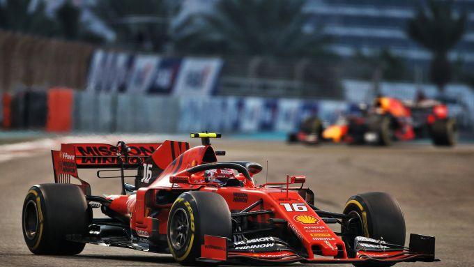 F1, GP Abu Dhabi 2019: Charles Leclerc (Ferrari)