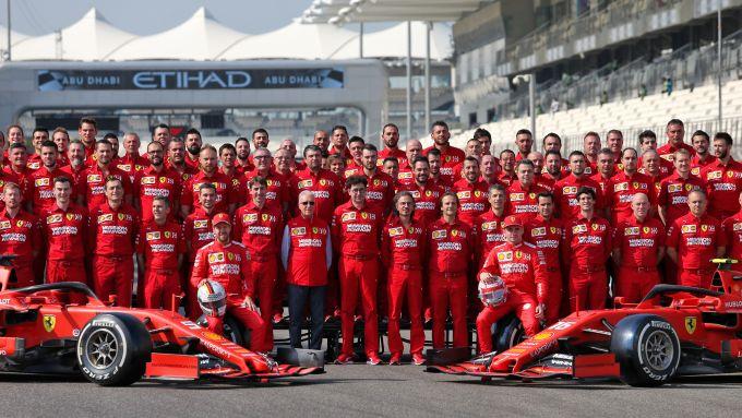 F1, GP Abu Dhabi 2019: foto di fine campionato per la Scuderia Ferrari