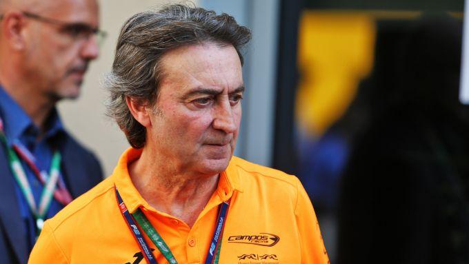 F1 GP Abu Dhabi 2019, Yas Marina: Adrian Campos nel paddock