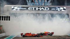 F1 GP Abu Dhabi 2019, Yas Marina: Charles Leclerc (Ferrari) e Max Verstappen (Red Bull)