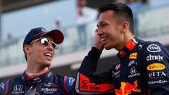 F1 GP Abu Dhabi 2019, Yas Marina: Daniil Kvyat (Toro Rosso) e Alex Albon (Red Bull)