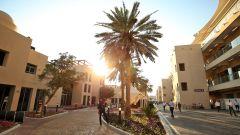 F1 GP Abu Dhabi 2019, Yas Marina: il paddock al tramonto