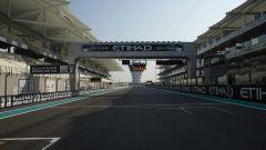 F1 GP Abu Dhabi 2019, Yas Marina: il rettilineo di partenza