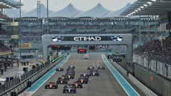 F1 GP Abu Dhabi 2019, Yas Marina: la partenza