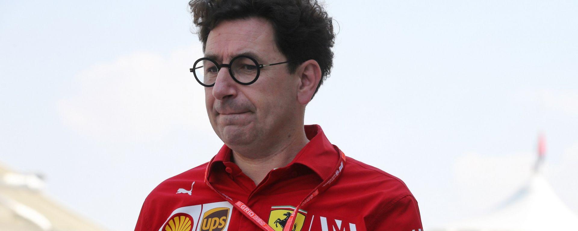 F1 GP Abu Dhabi 2019, Yas Marina: Mattia Binotto (Ferrari)