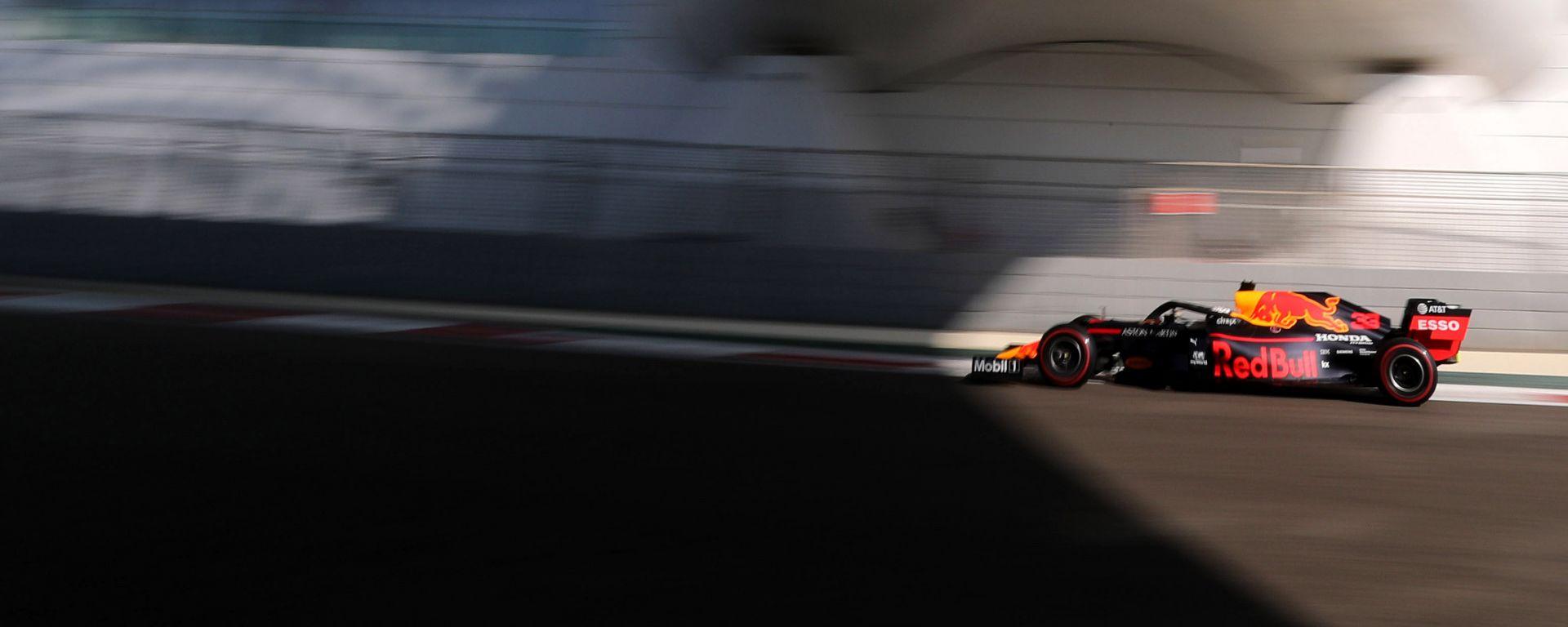 F1 GP Abu Dhabi 2019, Yas Marina: Max Verstappen (Red Bull) è il più veloce nelle PL3
