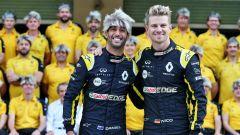 F1 GP Abu Dhabi 2019, Yas Marina: Nico Hulkenberg e Daniel Ricciardo (Renault)