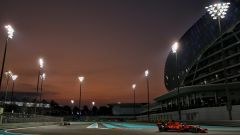 F1 GP Abu Dhabi 2019, Yas Marina: Sebastian Vettel (Ferrari) e Alex Albon (Red Bull)