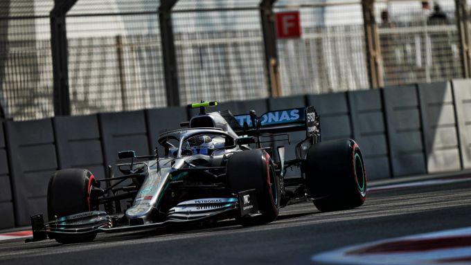 F1 GP Abu Dhabi 2019, Yas Marina: Valtteri Bottas (Mercedes) è il più veloce nelle PL1