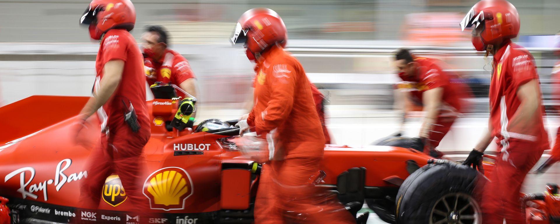 F1, GP Abu Dhabi 2020: Ferrari