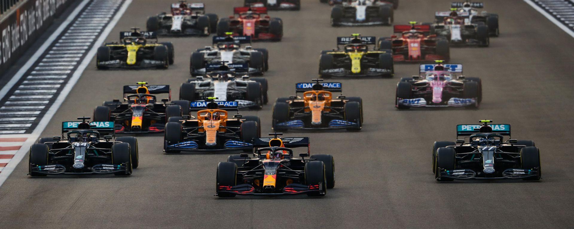 F1, GP Abu Dhabi 2020: la partenza