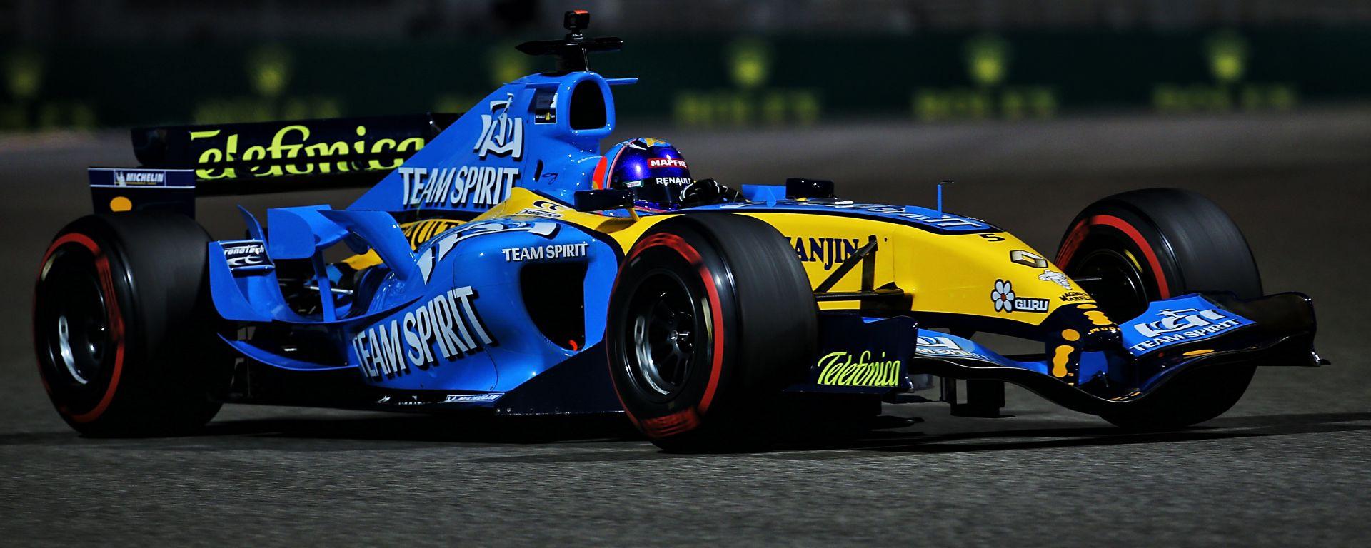 F1, GP Abu Dhabi 2020: l'esibizione di Fernando Alonso (Renault R25)