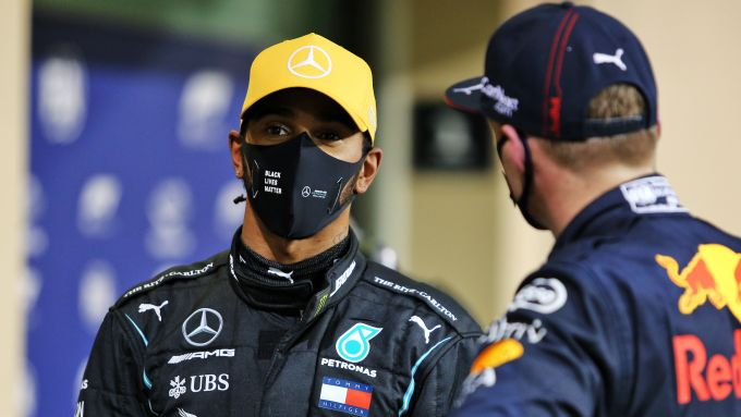 F1, GP Abu Dhabi 2020: Lewis Hamilton e Max Verstappen