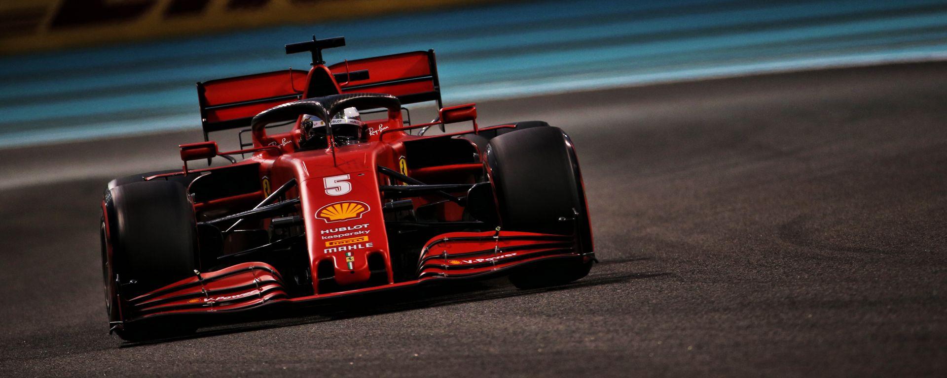 F1, GP Abu Dhabi 2020: Sebastian Vettel (Ferrari)