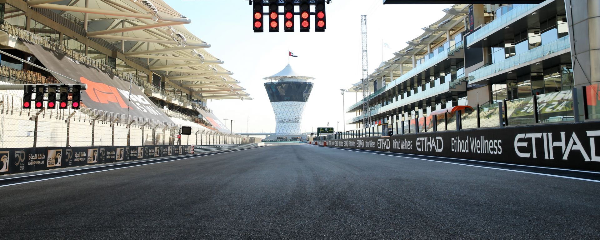 F1 GP Abu Dhabi 2020, Yas Marina: Atmosfera del circuito
