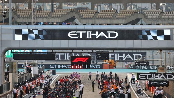 F1 GP Abu Dhabi 2020, Yas Marina: la griglia di partenza