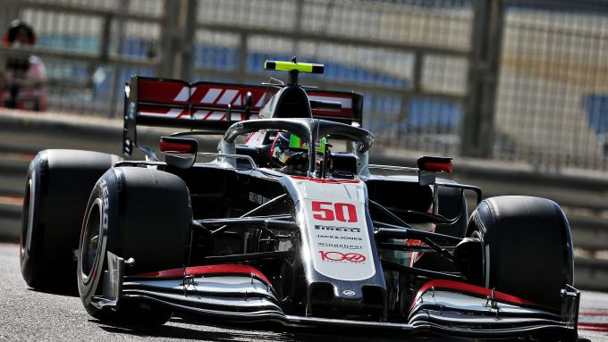F1 GP Abu Dhabi 2020, Yas Marina: Mick Schumacher al volante della Haas nelle PL1