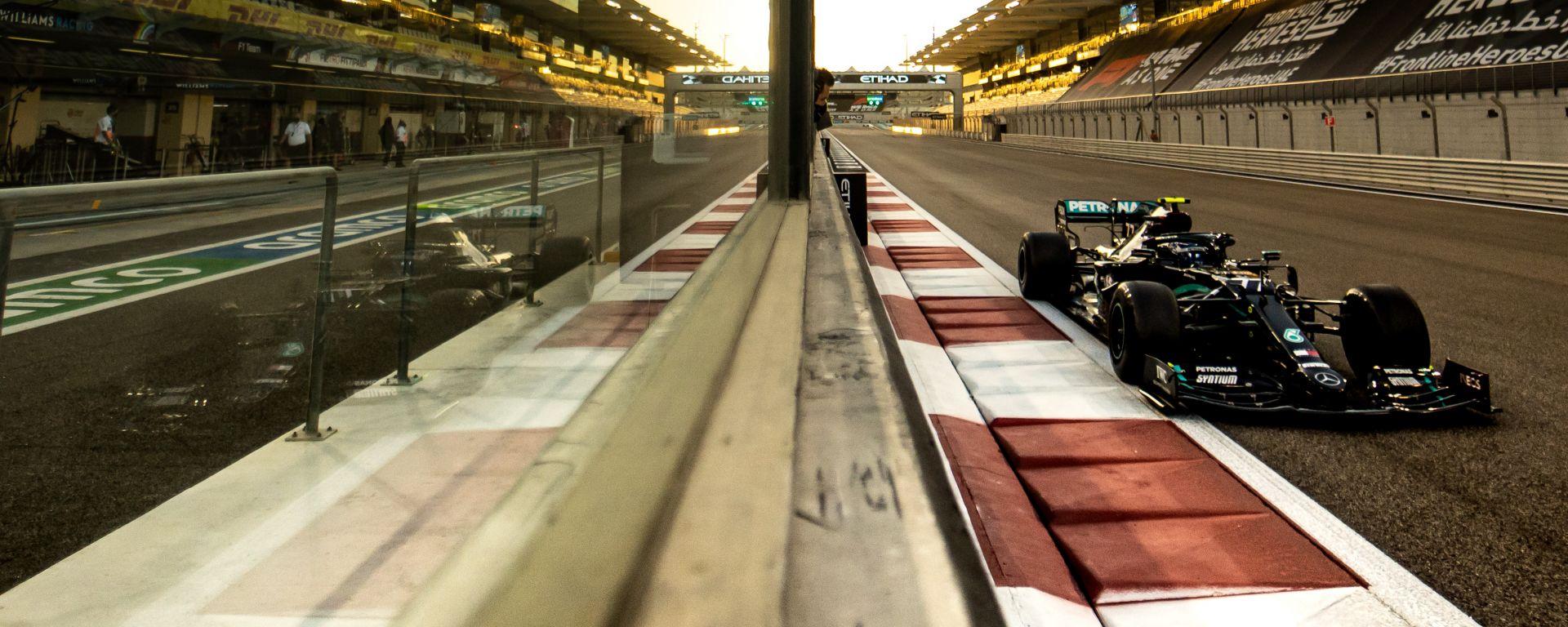 F1 GP Abu Dhabi 2020, Yas Marina: Valtteri Bottas (Mercedes AMG F1)