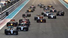 F1 GP Abu Dhabi, la partenza dell'edizione 2016