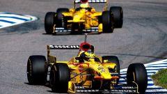 F1 GP Argentina 1997, Buenos Aires: Jordan, Giancarlo Fisichella vs Ralf Schumacher
