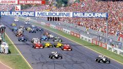F1, GP Australia 2001: la partenza della gara