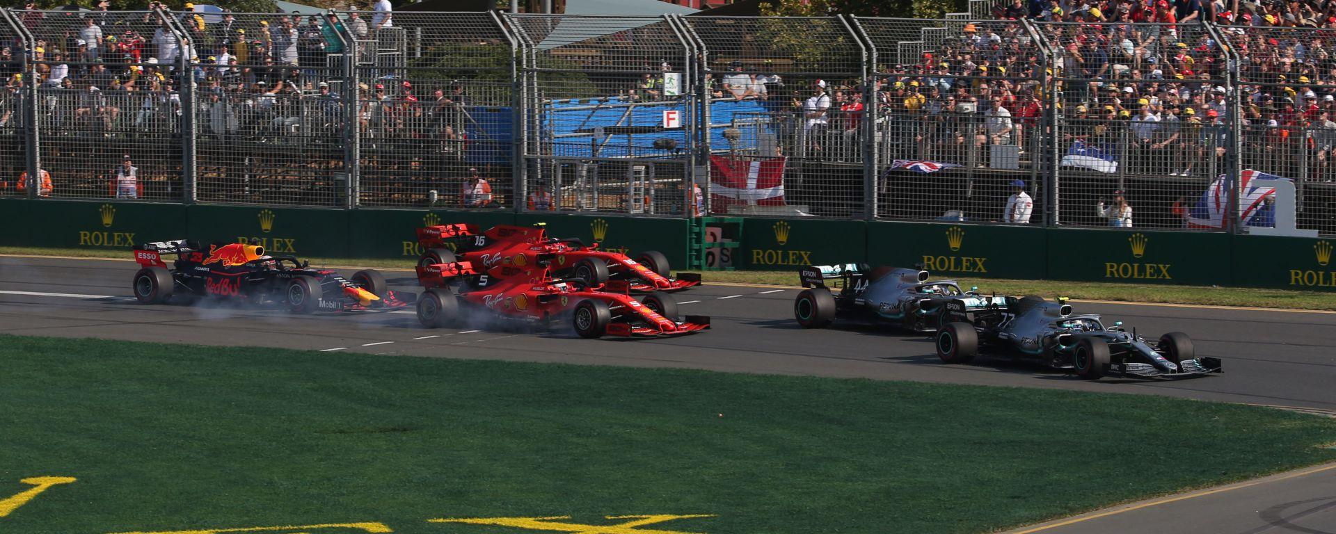 F1 GP Australia 2019, la partenza