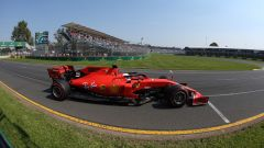 F1 GP Australia 2019, qualifiche: Sebastian Vettel (Ferrari)
