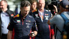 F1, GP Australia 2020: Chirs Horner ed Helmut Marko (Red Bull)