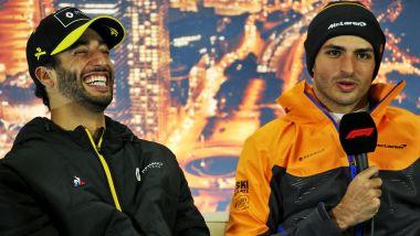 F1, GP Australia 2020: Daniel Ricciardo (Renault) e Carlos Sainz (McLaren)