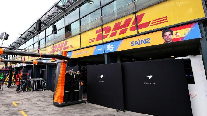 F1, GP Australia 2020: il box della McLaren chiuso a Melbourne